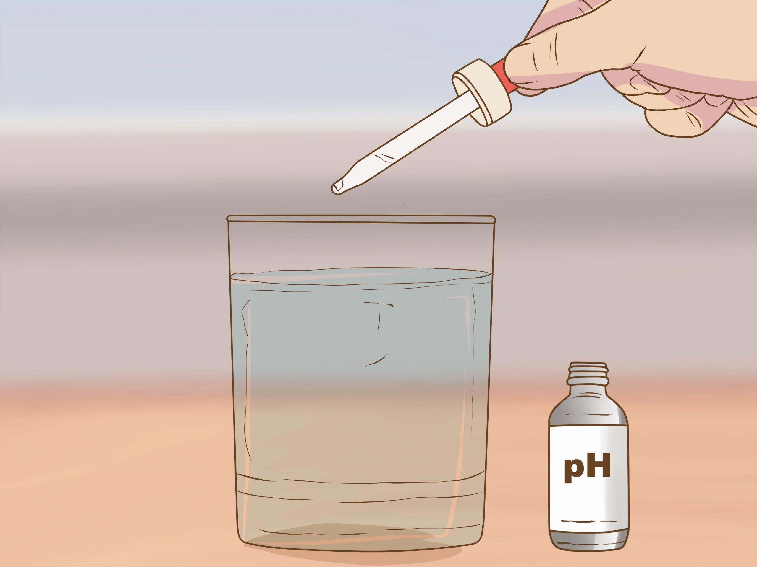 Cách thử độ PH của nước