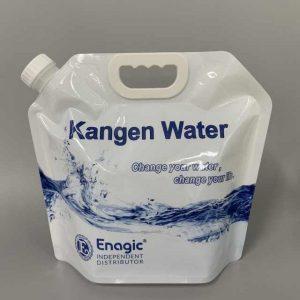 túi chứa nước điện giải Kangen 5 Lít màu trắng