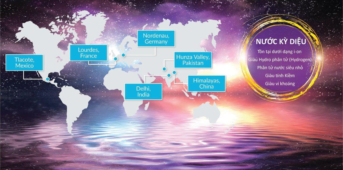 Nguồn nước quý hiếm được khám phá từ thiên nhiên tại các nước tiên tiến