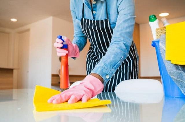 Dùng nước ion axit pH 2.5 – 3.0 để vệ sinh nhà bếp giúp khu vực nấu ăn của bạn sạch sẽ