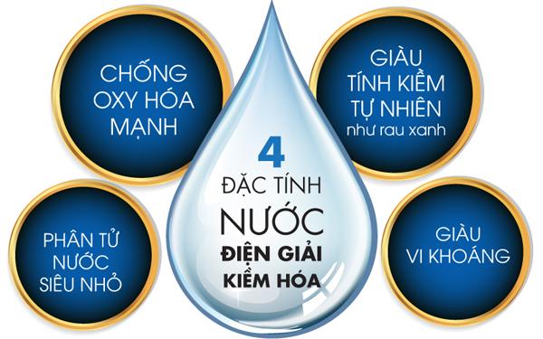 Nước ion kiềm sở hữu nhiều đặc tính quý nhưng khó bảo quản
